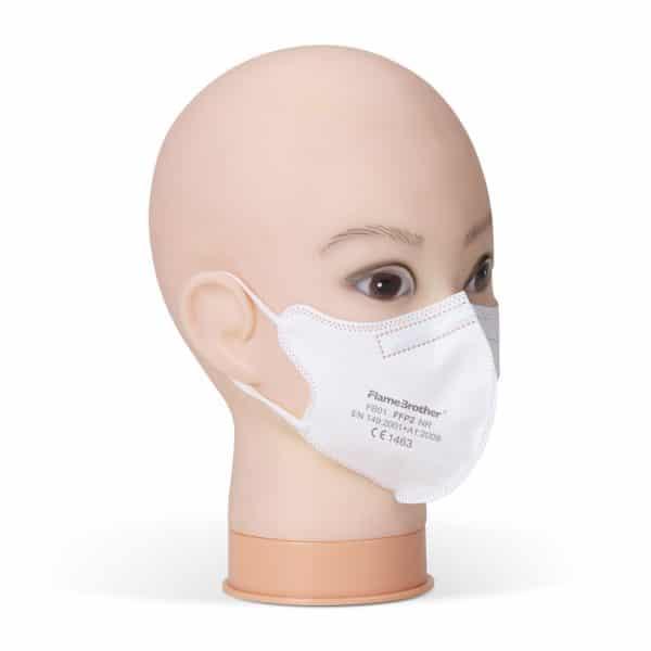 Flamebrother FB01 ffp2 kids filtering half mask 02