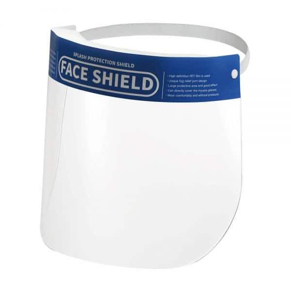 Face Shield with Clear Wide Visor FS 01 01